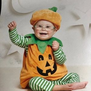 Other - Infant Pumpkin costume 6-12 months NWT